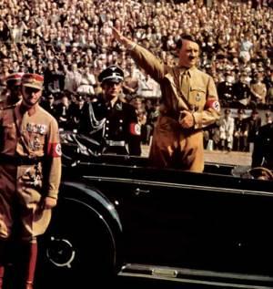 Hitler e sua legião de nazistas